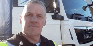 The haulage entrepreneur swapping freight for essential supplies