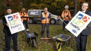 Find And Fix making County Durham communities cleaner and greener