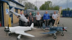 Model aeroplane builder company see sales fly high
